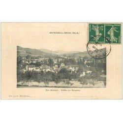 carte postale ancienne 31 ENCAUSSE-LES-BAINS. Vallée sur Valentine 1911