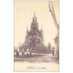 carte postale ancienne 31 LESTELLE. La Chapelle
