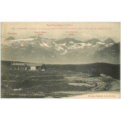 carte postale ancienne 31 LUCHON. Plateau Superbagnères et l'hotellerie