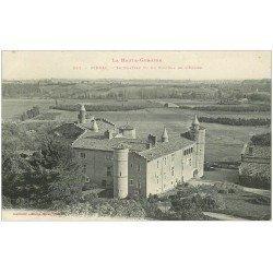 carte postale ancienne 31 PIBRAC. Le Château 1907