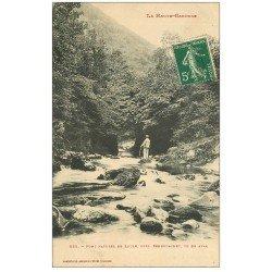 carte postale ancienne 31 PONT NATUREL DE LOULE vers 1910