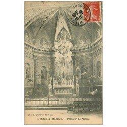 carte postale ancienne 31 RIEUMES. Eglise 1909