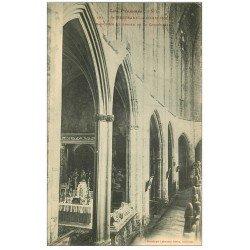 carte postale ancienne 31 SAINT-BERTRAND-DE-COMMINGES. Cathédrale Bas-Côtés