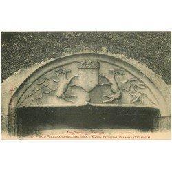 carte postale ancienne 31 SAINT-BERTRAND-DE-COMMINGES. Chanoine Maison Trédoulat