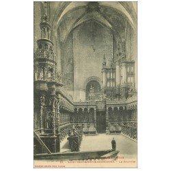 carte postale ancienne 31 SAINT-BERTRAND-DE-COMMINGES. Orgues et Chapître