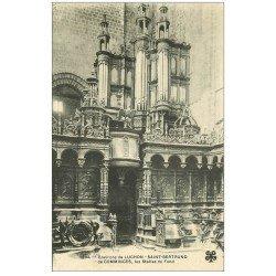 carte postale ancienne 31 SAINT-BERTRAND-DE-COMMINGES. Orgues et Stalles