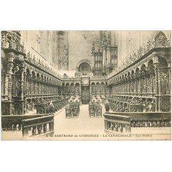 carte postale ancienne 31 SAINT-BERTRAND-DE-COMMINGES. Stalles et Orgues