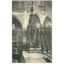 carte postale ancienne 31 SAINT-BERTRAND-DE-COMMINGES. Trône Episcopal