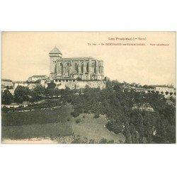 carte postale ancienne 31 SAINT-BERTRAND-DE-COMMINGES. Vue générale 21 bis
