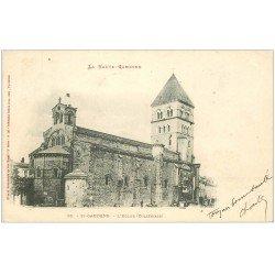 carte postale ancienne 31 SAINT-GAUDENS. L'Eglise 1902