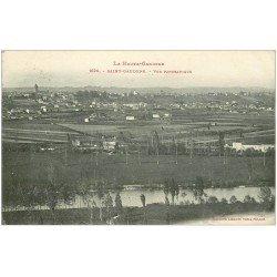 carte postale ancienne 31 SAINT-GAUDENS. Panorama 1918