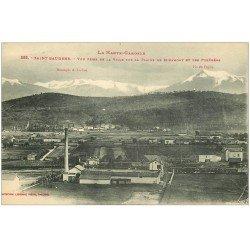 carte postale ancienne 31 SAINT-GAUDENS. Usines Plaine de Miramont