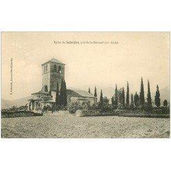 carte postale ancienne 31 SAINT-JUST. Eglise