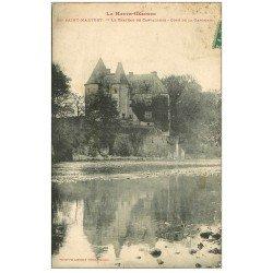 carte postale ancienne 31 SAINT-MARTORY. Château de Carvalhoes 1915