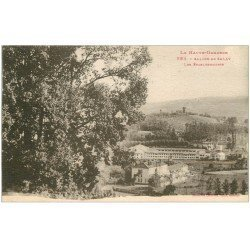 carte postale ancienne 31 SALIES-DU-SALAT. Etablissements 1929