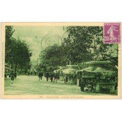 carte postale ancienne 31 TOULOUSE. Avenue Jean-Jaurès vers 1930