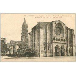 carte postale ancienne 31 TOULOUSE. Basilique Saint-Sernin 94