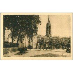carte postale ancienne 31 TOULOUSE. Basilique Saint-Sernin Abside 12