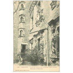 carte postale ancienne 31 TOULOUSE. Cour Hôtel de Lasbordes