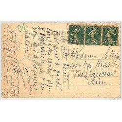 carte postale ancienne 01 PEROUGES. Hostellerie rue des Princes Place de la Halle