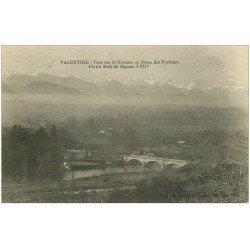 carte postale ancienne 31 VALENTINE. Pont sur la Garonne 1915