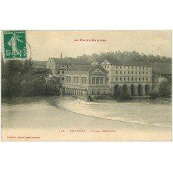carte postale ancienne 31 VILLEMUR. Usines Brusson 1910