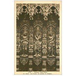 carte postale ancienne 32 AUCH. Basilique. Choeur. Femme Guerrier Religion