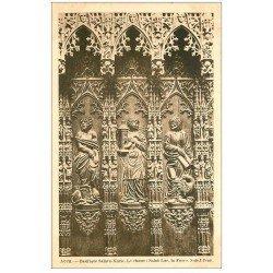 carte postale ancienne 32 AUCH. Basilique. Choeur. Saint-Luc Force Saint-Jean
