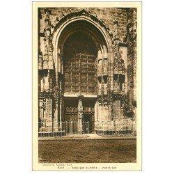 carte postale ancienne 32 AUCH. Basilique. Porte Sud