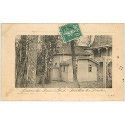 carte postale ancienne 32 CASTERA-LES-BAINS. Pavillon des Douches 1910