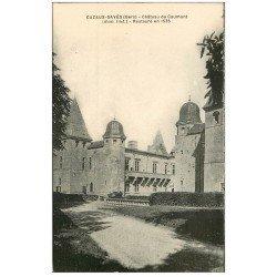 carte postale ancienne 32 CAZAUX-SAVES. Château de Caumont