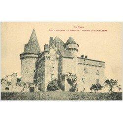 carte postale ancienne 32 CHATEAU DE FLAMARENS. Miradoux