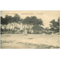 carte postale ancienne 33 ANDERNOS-LES-BAINS. La Ville d'Hiver 1936