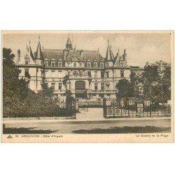 carte postale ancienne 33 ARCACHON. Casino