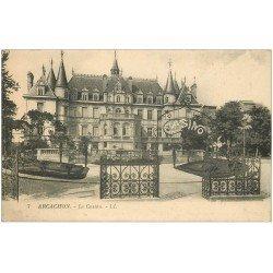 carte postale ancienne 33 ARCACHON. Le Casino LL 7