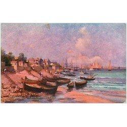 carte postale ancienne 33 ARCACHON. Plage Saint-Ferdinand