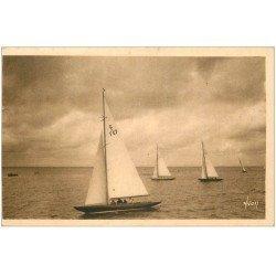 carte postale ancienne 33 ARCACHON. Régates 1954