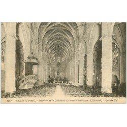 carte postale ancienne 33 BAZAS. Cathédrale