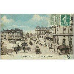 carte postale ancienne 33 BORDEAUX. Gare du Midi 1924 n°29