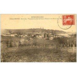 carte postale ancienne 33 BRANNE. Grands Côteau Entre-Deux-Mers
