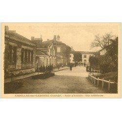 carte postale ancienne 33 CADILLAC-SUR-GARONNE. Asile d'Aliénés