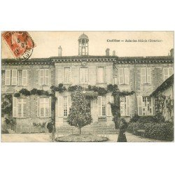 carte postale ancienne 33 CADILLAC-SUR-GARONNE. Asile d'Aliénés la Direction 1910