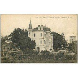 carte postale ancienne 33 CADILLAC-SUR-GARONNE. Château La Tour