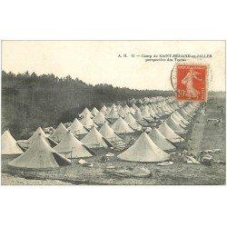 carte postale ancienne 33 CAMP DE SAINT-MEDARD-EN-JALLES. Les Tentes 1919