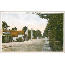 carte postale ancienne 33 CAMP DE SOUGE. Entrée principale