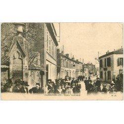 carte postale ancienne 33 CARBON-BLANC. Route Nationale 1915