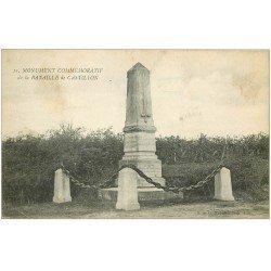carte postale ancienne 33 CASTILLON. Monument Bataille n° 11