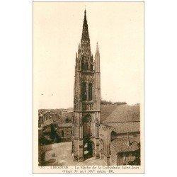 carte postale ancienne 33 LIBOURNE. Flèche Cathédrale