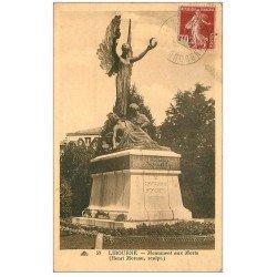 carte postale ancienne 33 LIBOURNE. Monument aux Morts
