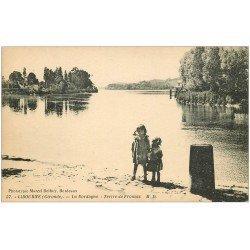 carte postale ancienne 33 LIBOURNE. Tertre de Fronsac